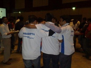 3 together (Pradipta, Hardik, Ashwin) on Culminis Jersey