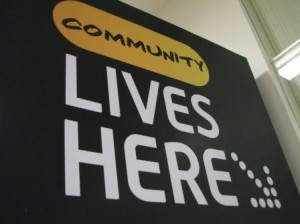 Community Lives Here